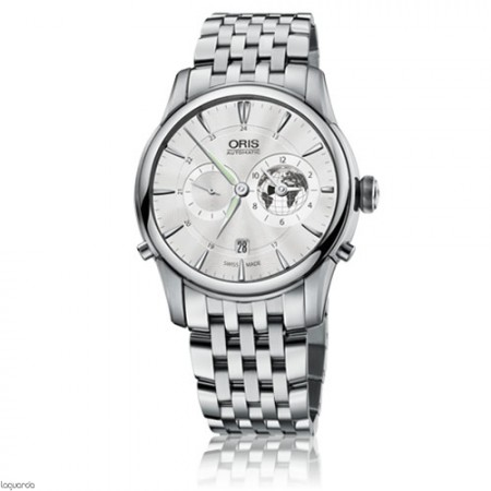 Oris  Artelier Greenwich Mean Time Limited Edition 01 690 7690 4081 MB