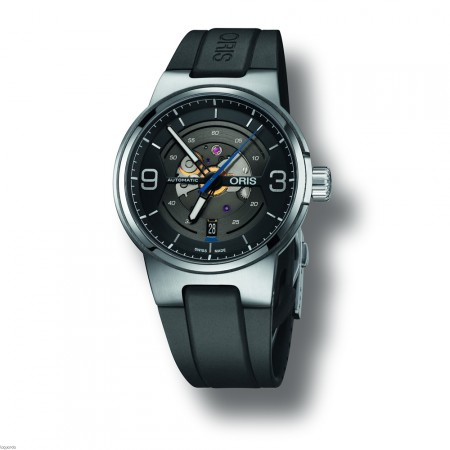 Oris 01 733 7716 4164 4 24 50 Williams Engine, Date