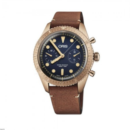 Oris 01 771 7744 3185-Set LS Carl Brashear Chronograph Limited Edition
