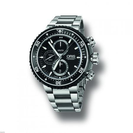 Oris 01 774 7727 7154 Set RS ProDiver Chronograph