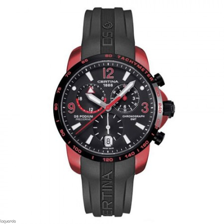 Reloj Certina C001.639.97.057.01 DS Podium Chrono GMT Aluminium.
