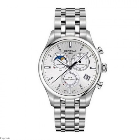 Reloj Certina DS 8 Gent Chrono Moon Phase C033.450.11.031.00