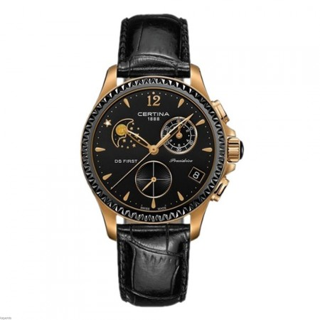Certina C030.250.36.056.00 DS First Lady Chrono Moon Phase