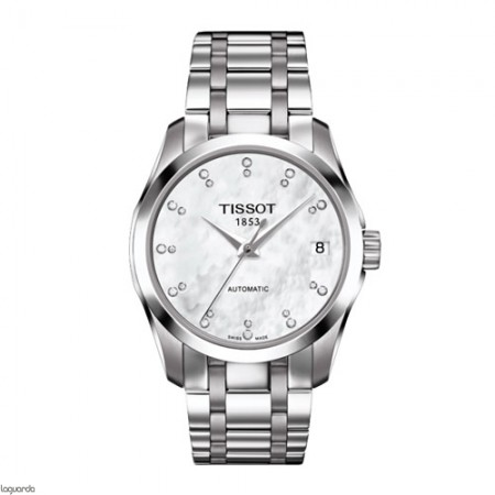 Reloj Tissot T-Trend Couturier Lady T035.207.11.116.00