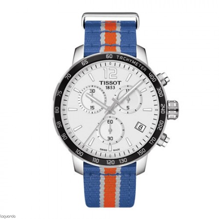 Reloj Tissot New York Knicks Quickster T095.417.17.037.06