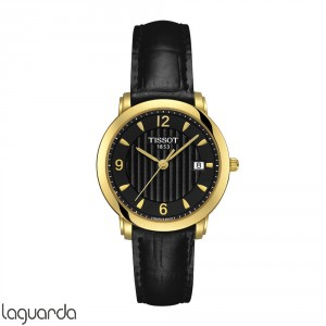 T71.3.134.54 Tissot T-Gold Sculpture Line Quartz