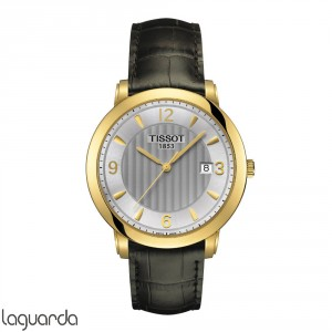 T71.3.450.64 Tissot T-Gold Sculpture Line Quartz