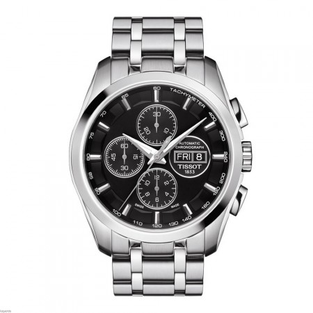 Watch T035.614.11.051.01 Tissot Couturier Automatic Chronograph ... 9b2a37425292