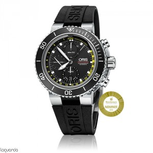 Oris 01 774 7708 4154 RS Aquis Depth Gauge Chronograph