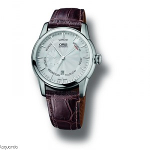 745 7666 4051 LS Oris Artelier Small Second Pointer Day