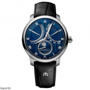 Maurice Lacroix Masterpiece MP6608-SS001-410-1 Moonphase Retrograde