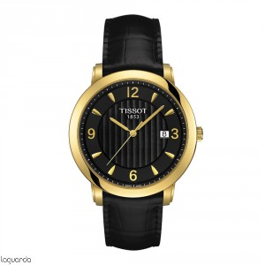 T71.3.450.54 Tissot T-Gold Sculpture Line Quartz