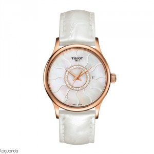Tissot T-Gold Rose Dream Quartz T914.210.46.116.00 Lady
