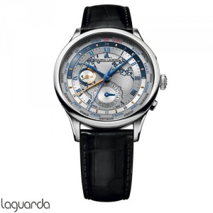 Maurice Lacroix Masterpiece MP6008-SS001-111 Worldtimer
