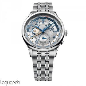 Maurice Lacroix Masterpiece MP6008-SS002-111 Worldtimer