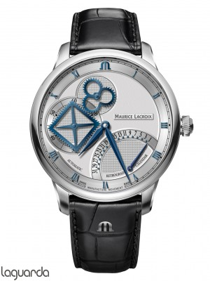 MP6058-SS001-110-1 Maurice Lacroix Masterpiece Square Wheel Retrograde