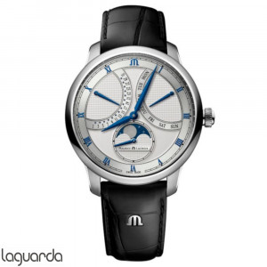 Maurice Lacroix Masterpiece MP6608-SS001-110-1 Moonphase Retrograde