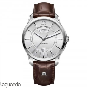 PT6358-SS001-130-1 - Maurice Lacroix Pontos Day/Date