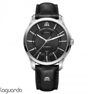 PT6358-SS001-330-1 - Maurice Lacroix Pontos Day/Date