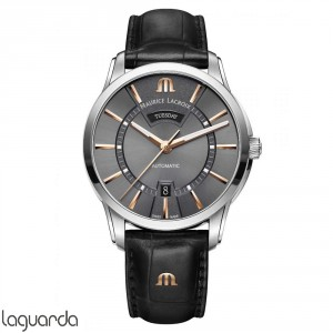 PT6358-SS001-331-1 - Maurice Lacroix Pontos Day/Date