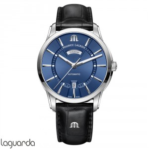 PT6358-SS001-430-1 - Maurice Lacroix Pontos Day/Date