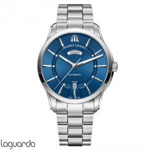 PT6358-SS002-430-1 - Maurice Lacroix Pontos Day/Date