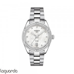 T101.910.61.116.00 Tissot PR100 Sport Chic Quartz Lady Diamonds