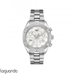 T101.917.11.116.00 Tissot PR100 Sport Chic Chronograph Diamonds Lady