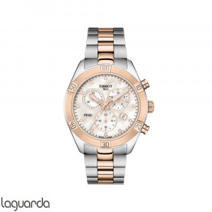 T101.917.22.116.00 Tissot PR100 Sport Chic Chronograph Diamonds Lady