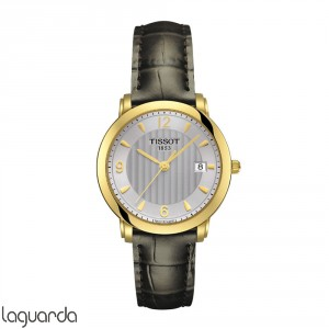 T71.3.134.64 Tissot T-Gold Sculpture Line Quartz